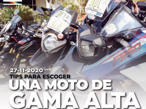 TIPs para para escoger una moto de gama alta