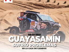 Otro día difícil para Guayasamín en el Dakar