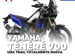 TÉNÉRÉ 700, LA APUESTA TRAIL DE YAMAHA