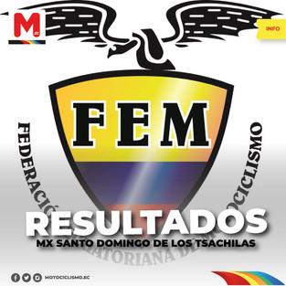 Resultados de la Primera Válida del Campeonato Nacional de Motocross
