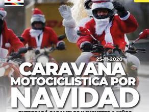 CARAVANA MOTOCICLISTICA POR NAVIDAD ENTREGARÁ CARAMELOS Y JUGUETES A NIÑOS