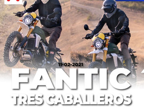 Caballeros italianos... Fantic Rally, Scrambler y Flat Track