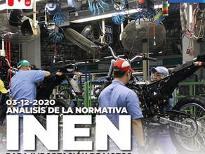 Análisis de las normativas INEN para importación de motos