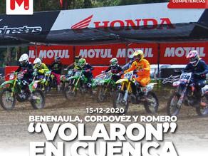 Se vivió la fiesta del Nacional de Motocross en Cuenca