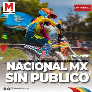 Sin público el Nacional de MotoCross