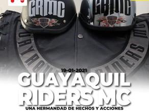 AYUDA SOCIAL Y PASEOS… LA BASE DEL GUAYAQUIL RIDERS MC