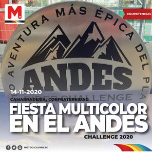 Fiesta Multicolor en el Andes Rider Challenge