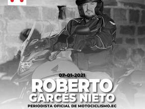 Roberto Garcés Nieto se une al equipo de Motociclismo.ec
