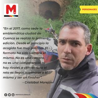 """Andes Rider, la meta es ser un """"Finisher"""""""