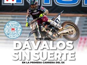 Dávalos debutó con un puesto 18