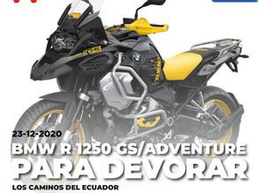 BMW R 1250 GS / Adventure, para devorar los caminos del Ecuador