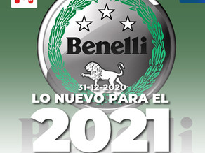 Benelli presentará dos nuevos modelos en el 2021