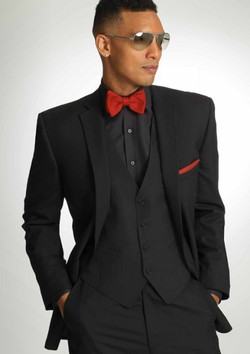 Black Valencia Suit by Savvi