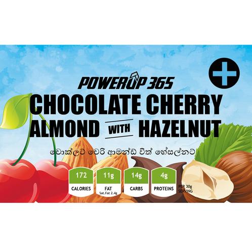 Chocolate Cherry Almond with Hazelnut 100g