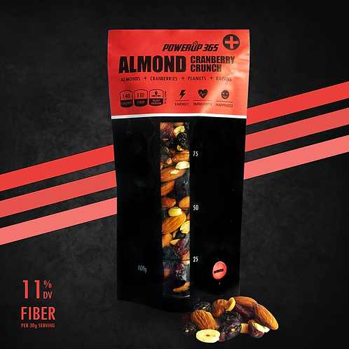 Almond Cranberry Crunch 100g