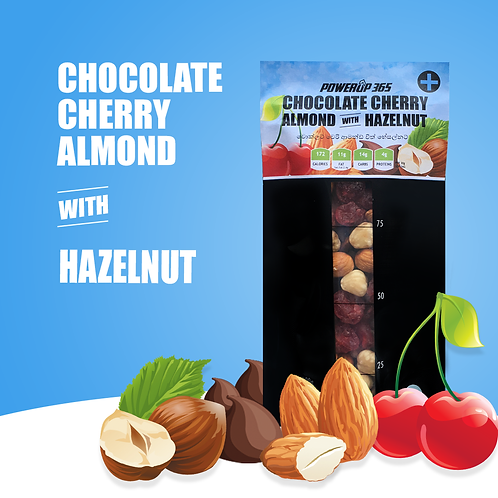 Chocolate Cherry Almond with Hazelnut 100g