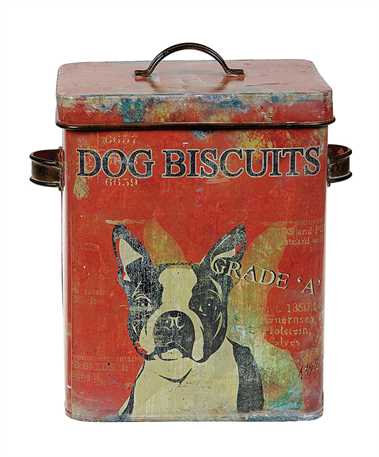 Dog Biscuit Tin
