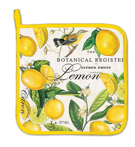 Lemon Basil Pot Holder