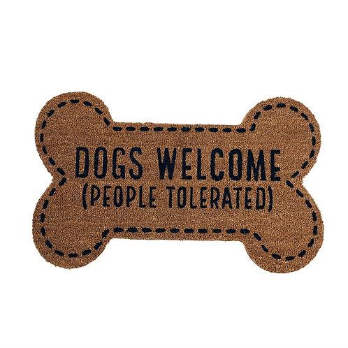 People Tolerated Bone Door Mat