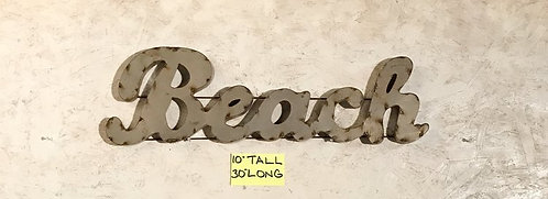 Beach Metal Word
