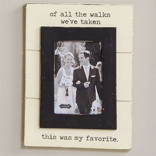 Of All the Walks Frame