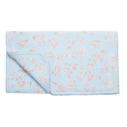 Blue Rose Interlock Blanket