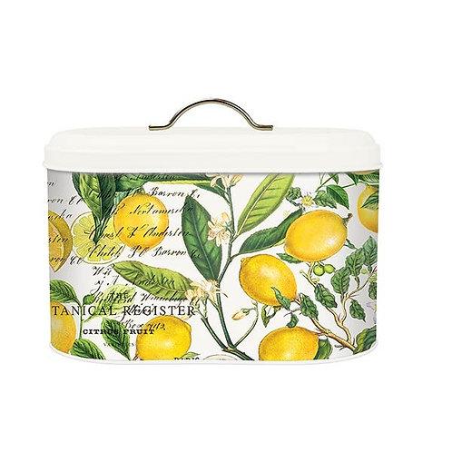 Lemon Basil Bread Box Bin