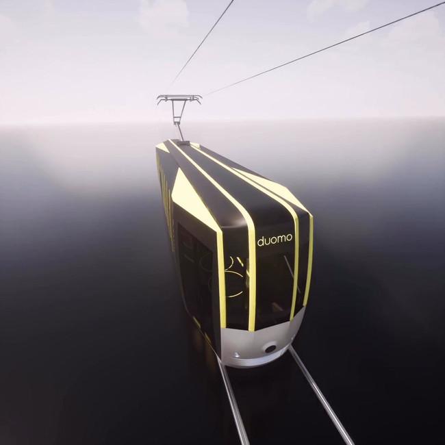 Passerella_tram_for_Milan_video_Arturo_Tedeschi