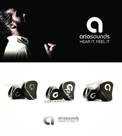 Brand Identity | Aria Sounds