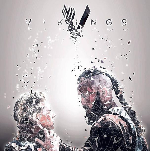 "Ragnar & Lagertha ""Vikings"""