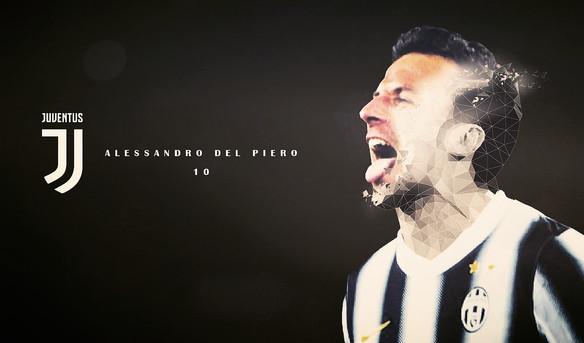 """Alessandro Del PIero """"10"""""""