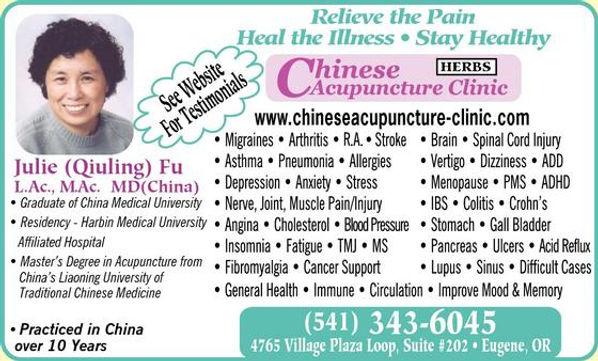 Eugene Acupuncture