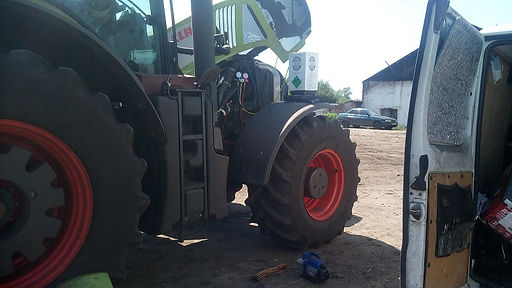 Заправка кондиционеров сельхозтехники.