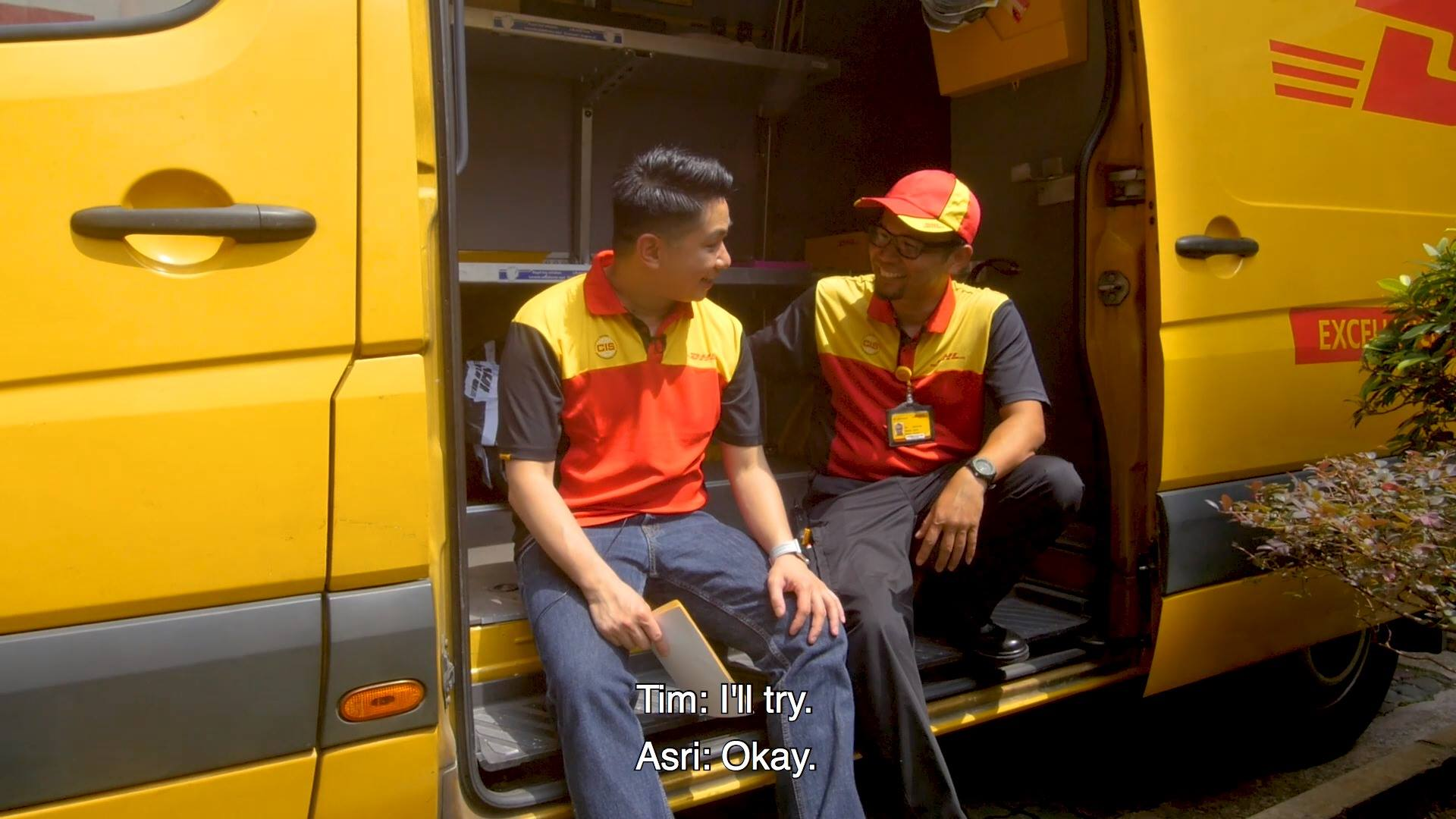 DHL Express In Your Shoes Campaign with Timothy Go