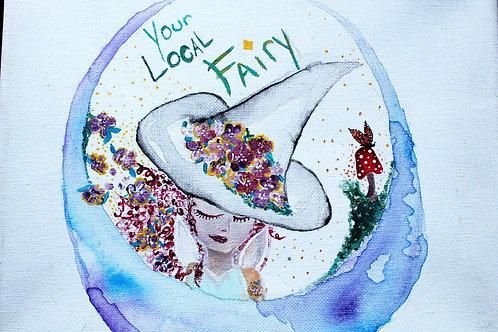 Your Local Fairy Original Logo Print (8x10)