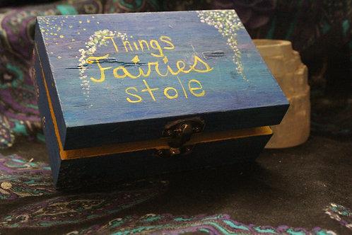"""""""Things fairies stole"""" Box"""