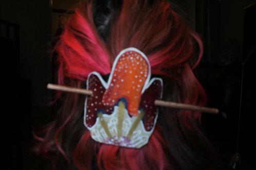 Triple Mushie Fairy Hair Slide