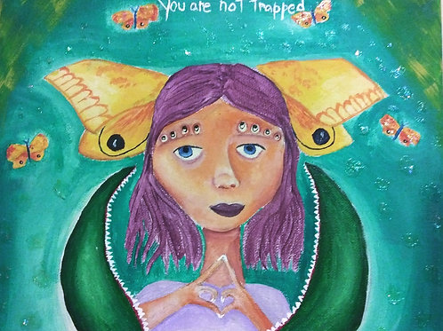 """""""You are not trapped"""" Print"""