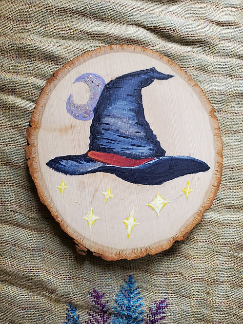 Witchy Wood Hanging