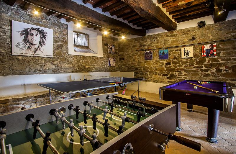 Casa Leana - Games Room