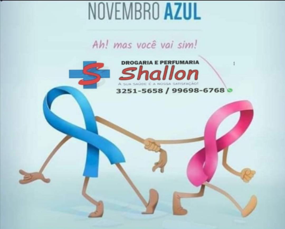 Novembro Azul - Drogaria Shallon