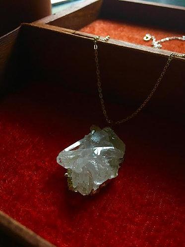 Clear Quartz Healing Pendant