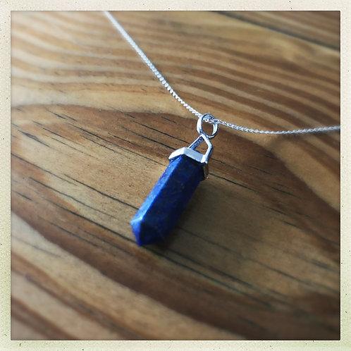 Lapis Lazuli DT Point Pendant
