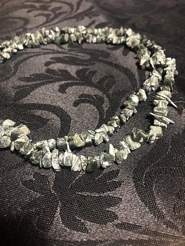 Seraphinite Natural Necklace