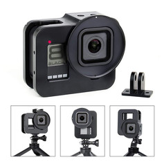 GoPro 8 Vertical + Horizontal Mount Case