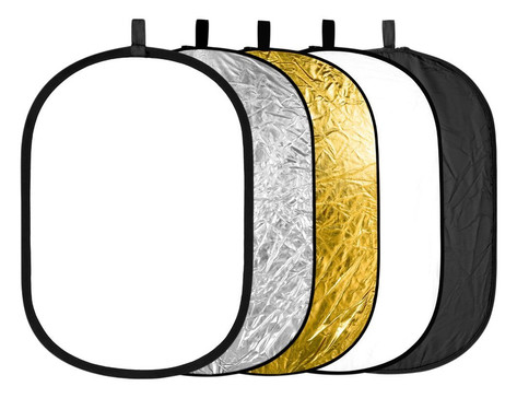 Neewer 5 in 1 Portable Round Collapsible Reflector