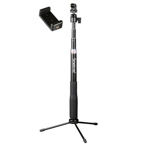 Smatree Q3 Telescoping Selfie Stick w/ Tripod Stand