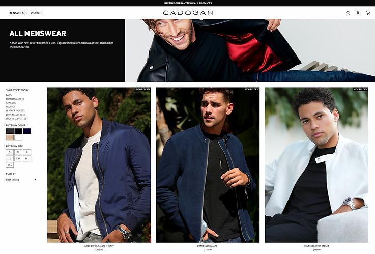 CADOGAN WORLD, Men's Jackets - Alvin YJ Kim LA Photographer