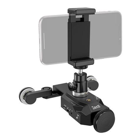Zecti Camera Rolling Robot Slider