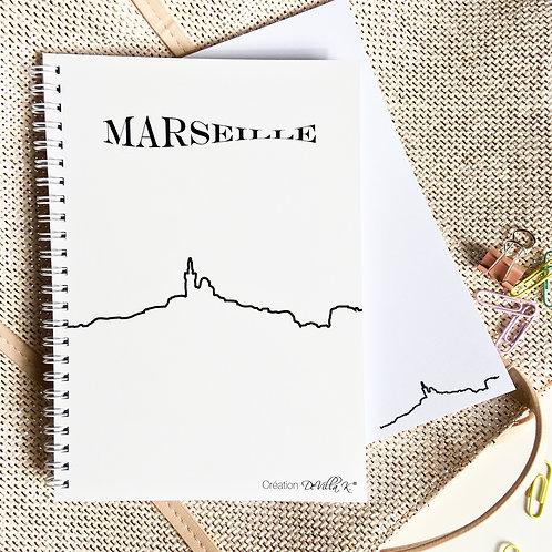 Coffret de 2 cahiers A5 - Marseille